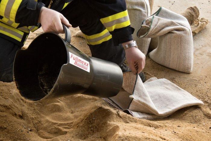 Sandsackfülltrichter Fülltrichter Füllmexx