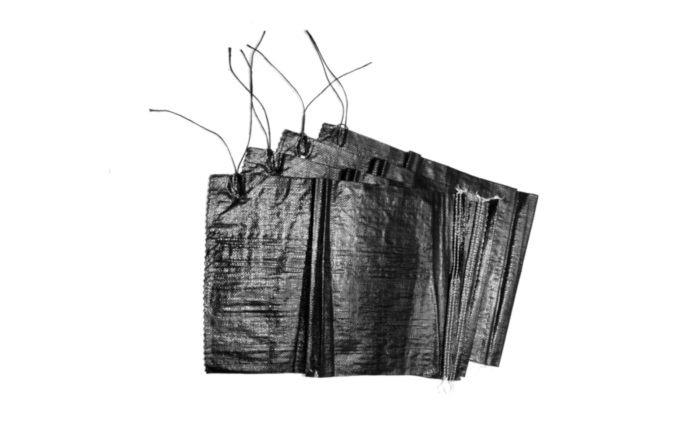 Sandsäcke PP leer 40x60 cm PP-Sandsäcke schwarz ungefüllt