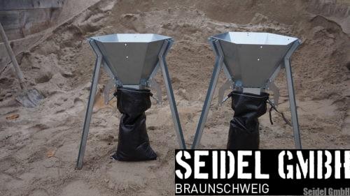 Sandsackfülltrichter SAQUICK easy single Fülltrichter für Sandsäcke