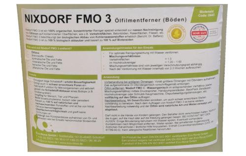 Flüssigölbindemittel öFIX FMO Gewässer - ehemals Nixdorf FMO3