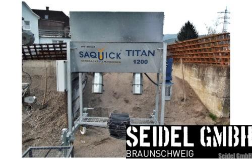 Sandsackfüllmaschine SAQUICK TITAN 1200