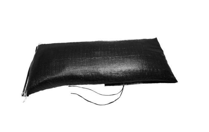 PP Sandsack 27x100 cm schwarz gefüllt