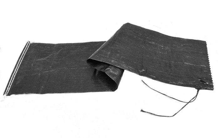 Sandsäcke PP 27x 100 cm - schwarz - ungefüllt